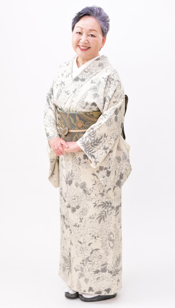 日本和装 岩本 京子講師